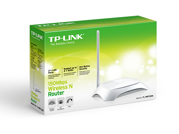 TP-Link TL-WR720N 150Mbps Wireless N Router